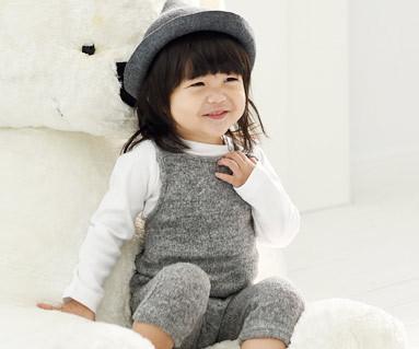 Wondeyi家庭+牛津衬衫/婴儿/ 14D02