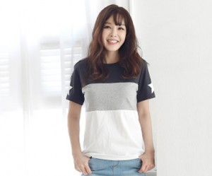 My Star女女性短袖体恤_16B12