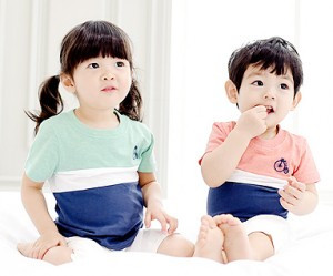 Trinity圆领婴儿短袖体恤衫_15B04