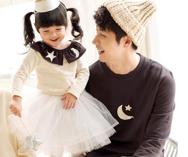 拉绒dalbyeol爸爸和宝宝长袖_15D10