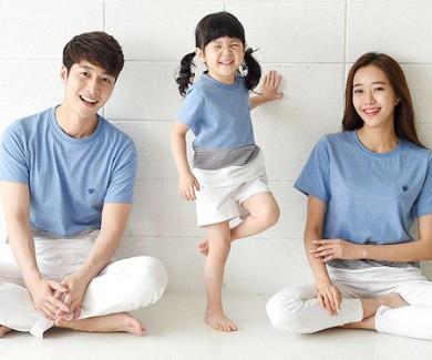 每日一轮家庭短袖体恤_16B20