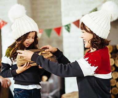 拉绒冷冻一对一长袖/母亲和婴儿/ 16D11
