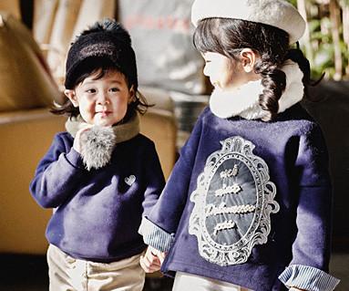 拉绒皇家丹迪家庭长袖/婴儿/ 16D03