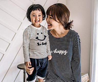 快乐的Dagara家庭妈妈和婴儿长袖_16C15