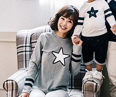 Star Line Family女装长袖_16C13