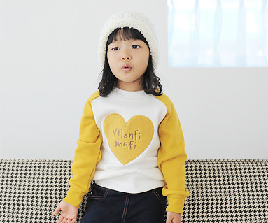 拉绒橄榄色运动衫长袖/婴儿/ 13D02
