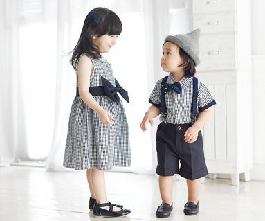 皇家花园家庭婴儿短袖体恤_16B06