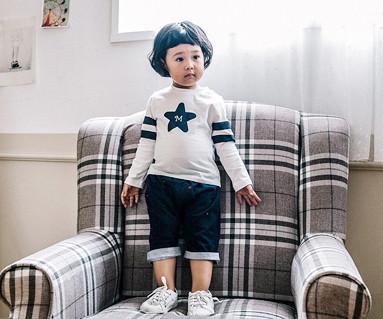 幸运的卢克儿童7部分裤宝宝_16C02