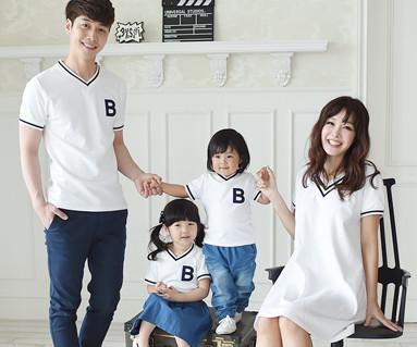 暑期学校家庭短袖体恤_16B11