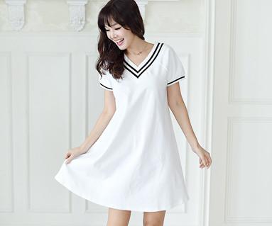 Summer School Home女装短袖身体_16B11