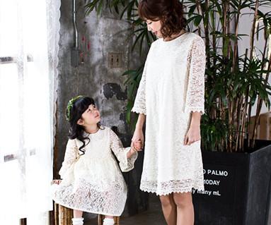 浪漫皇家妈妈和宝宝长袖_17A11