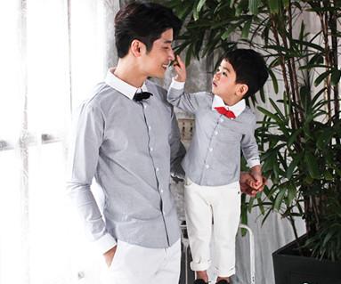 浪漫皇家爸爸和宝宝长袖_17A11