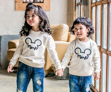 Mongpi鼠标运动衫的宝宝长袖_17C06
