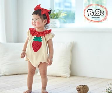 """<font color=""""ffffff"""">[家庭短袖T恤和家庭装] <br></font>草莓19S134 /童装,童装,童装"""
