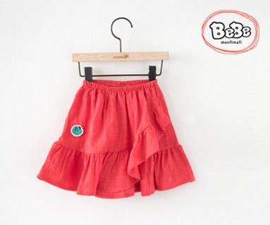 """<font color=""""ffffff"""">[家庭短袖T恤和家庭装] <br></font> Love Skirt 19S137 /童装,童装,孩子们的外观"""