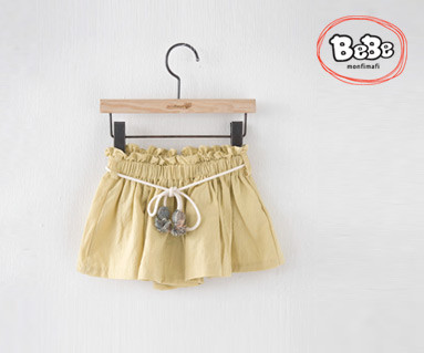 "<font color=""ffffff"">[家庭短袖T恤和家庭装] <br></font> Bonbong Currot短裤19S132 /童装,童装,童装"