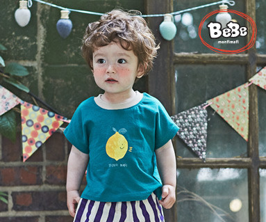 "<font color=""ffffff"">[家庭短袖T恤和家庭外观] <br></font>我是柠檬T恤19B14 /童装,童装,孩子们的外观"