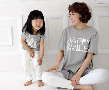 """<font color=""""ffffff"""">[家庭短袖T恤和家庭外观] <br></font>银河产妇和婴儿短袖身体_13B27"""