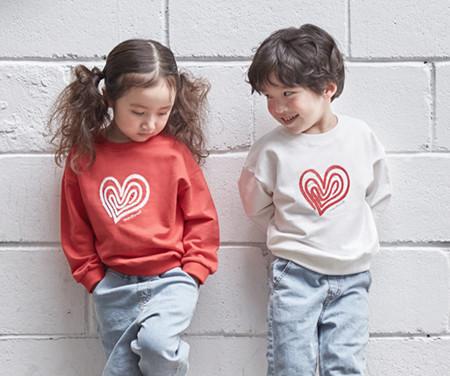 """<font color=""""ffffff"""">[家庭长袖及家庭外观] <br></font>儿童Heartrang运动衫20C01 <font color=""""red""""><b> </b></font>"""